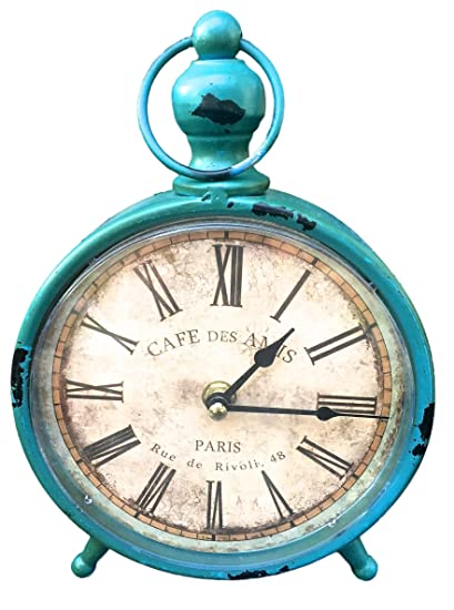 "Decorative Clock, Over-Sized Table and Desk 9"" x 6"", Vintage - Amazon.com: Decorative Clock, Over-Sized Table And Desk 9"