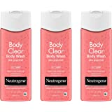 Neutrogena Body Clear Acne Treatment Body Wash with Salicylic Acid Acne Medicine, Pink Grapefruit Body Acne Cleanser to…