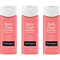 Neutrogena Body Clear Acne Treatment Body Wash with Salicylic Acid Acne Medicine, Pink Grapefruit Body Acne Cleanser to…