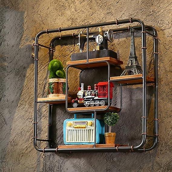 lu-shelf estante Retro Restaurante Bar paredes hierro ...