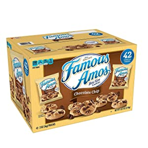 Famous Amos Chocolate Chip Cookies. (42 ct.)
