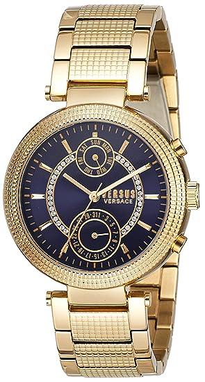 Versus Versace S79070017 - Reloj de pulsera Mujer, color Oro