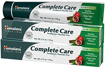 Himalaya Complete Care Toothpaste, Antiplaque toothpaste, for Healthy-Looking Gums and Long-