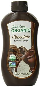 Santa Cruz Organic Syrup, Chocolate, 15.5 Ounce Bottle