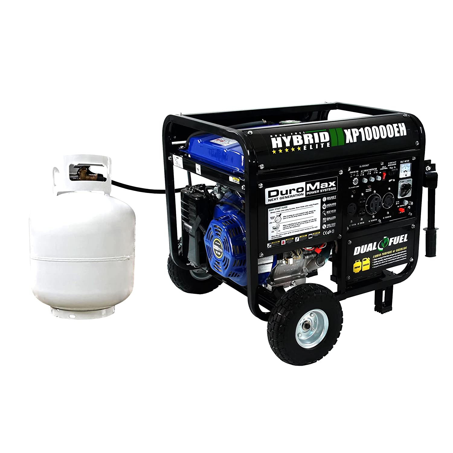 DUROMAX XP EH Review A Steadfast Dual Fuel Generator