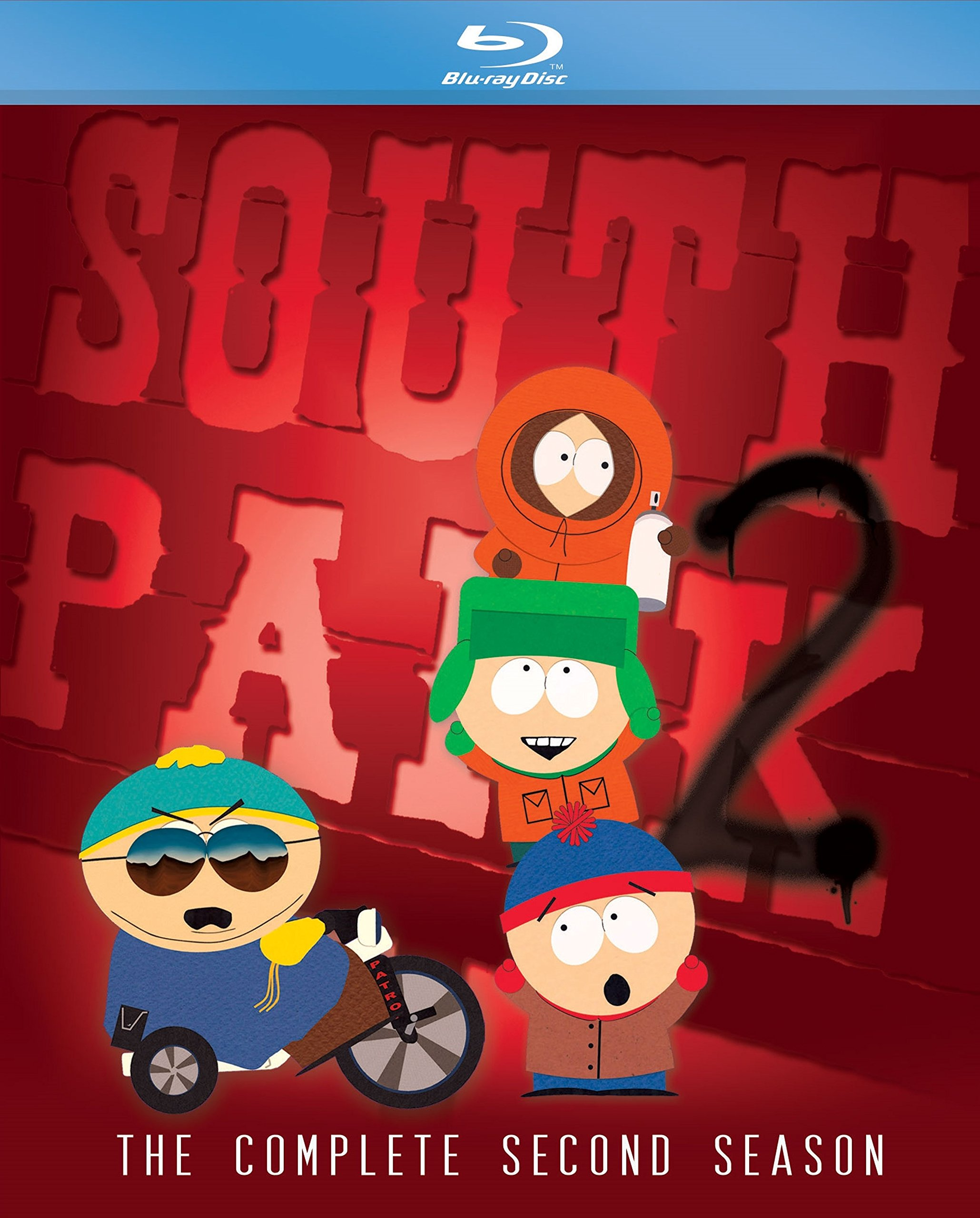 South Park: The Complete Second Season (Widescreen, 2 Pack, Amaray Case, 2PC)