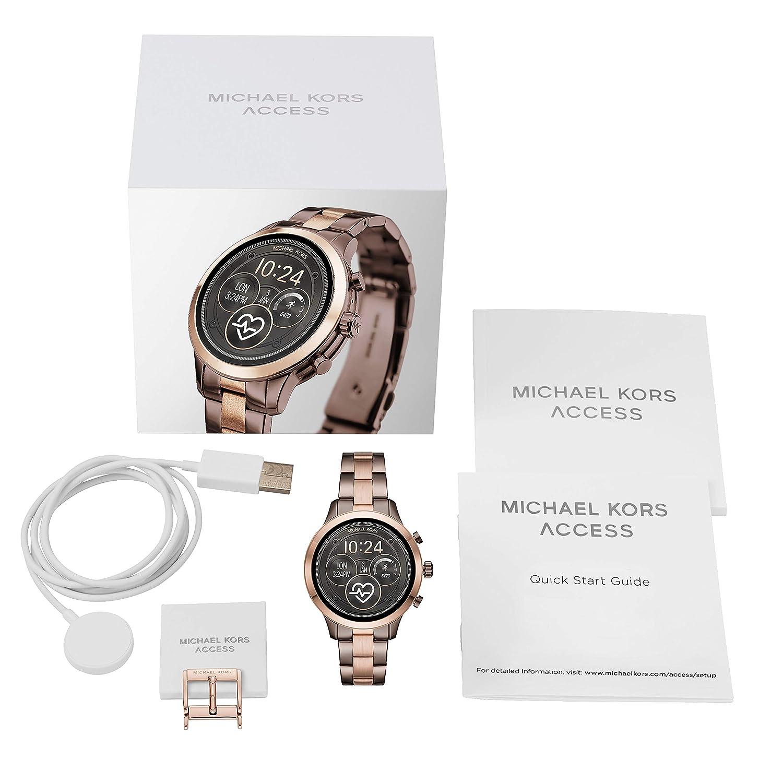 Michael Kors Access Womens Runway Touchscreen Smartwatch ...