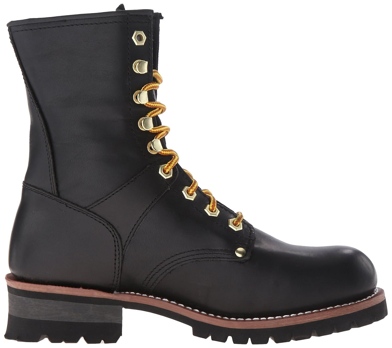 Amazon.com | Adtec Men\'s 9-inch Logger Boot | Industrial ...