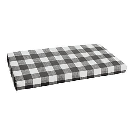 Amazoncom 1101design Premier Prints Black Buffalo Plaid 48 X 19
