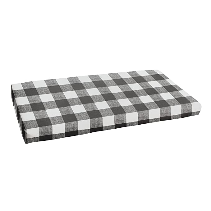 1101Design Indoor/Outdoor Rectangle Bench Cushion – The Mildew Resistant Outdoor Cushion