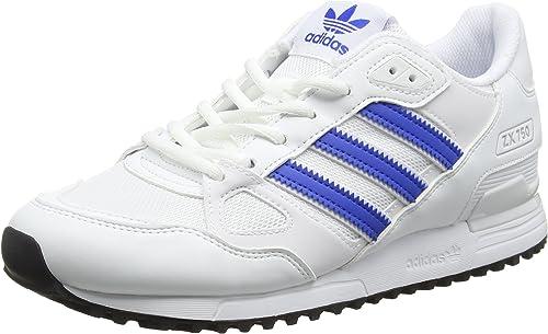 adidas ZX 750, Zapatillas para Hombre, Blanco (FTWR White/Blue ...