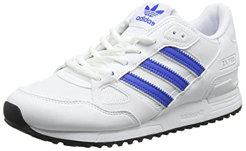 adidas ZX 750, Zapatillas para Hombre, Blanco (FTWR White/Blue/Core Black), 38 EU: Amazon.es: Zapatos y complementos