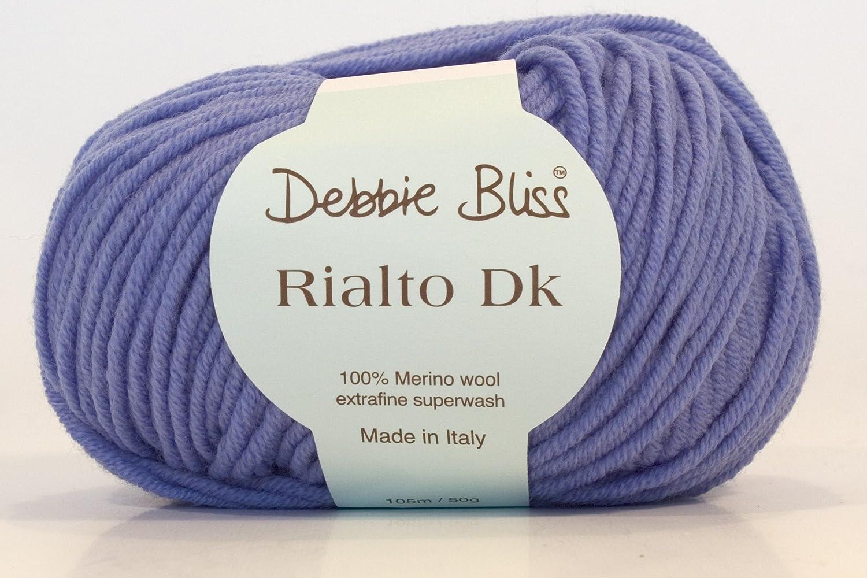 23061 Plum Debbie Bliss RIALTO DK Double Knitting Wool//Yarn 50g