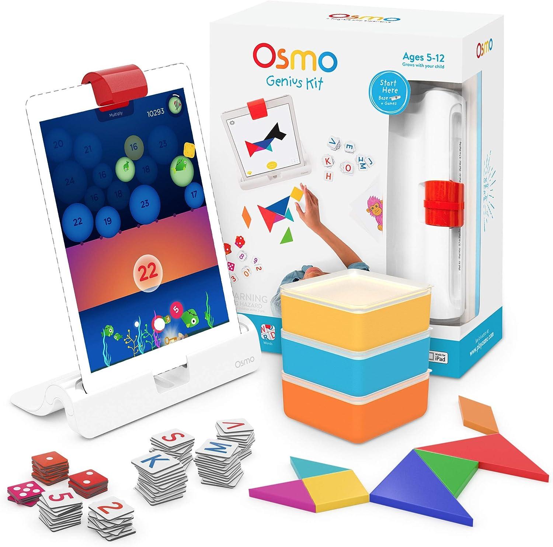 Osmo Genius Kit (Juegos Interactifs para iPad): Amazon.es ...