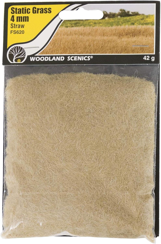 für Landschaftsgestaltung Woodland Scenics FS622 Static Grass Medium Green 7mm