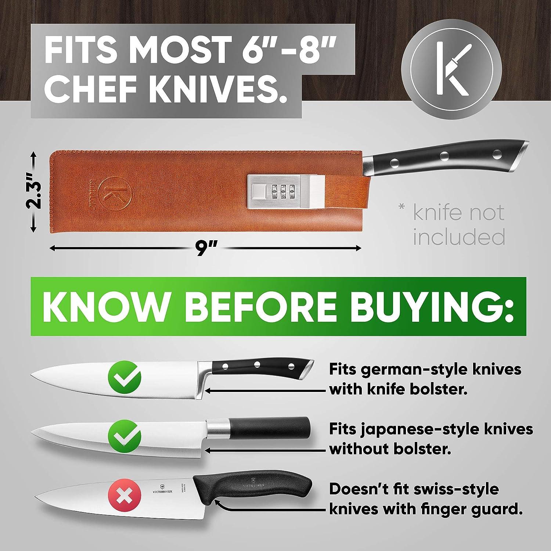 Amazon.com: Knifelok - Funda para cuchillos de chef y ...