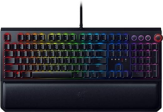 Razer BlackWidow Elite Mechanical Gaming Keyboard: Orange Mechanical Switches -...
