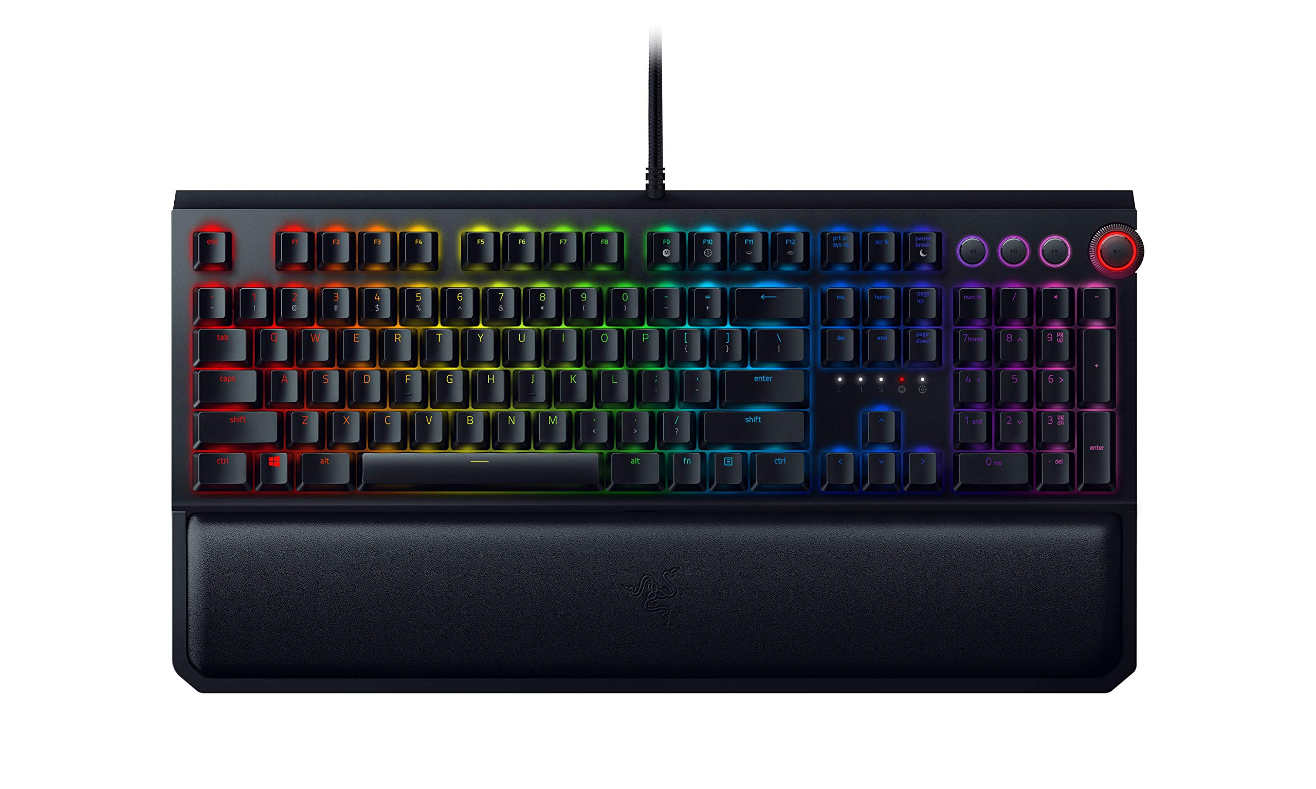 Teclado Mecanico Razer BlackWidow Elite : Yellow Switches Li