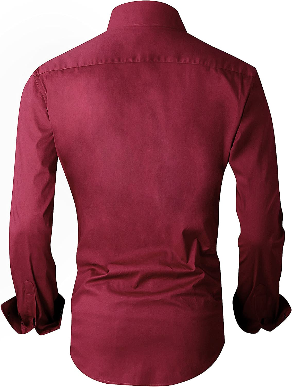 Alex Vando Damen Kleid Shirts Regular Fit Langarm-Shirt