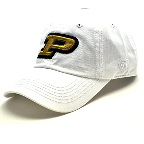 on sale 2696b 9641e Image Unavailable. Image not available for. Color  Top of the World Purdue  Boilermakers Official NCAA Adjustable TOW HAT 374004