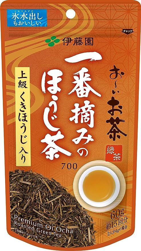 伊藤園 おーいお茶 一番摘みのほうじ茶 60g