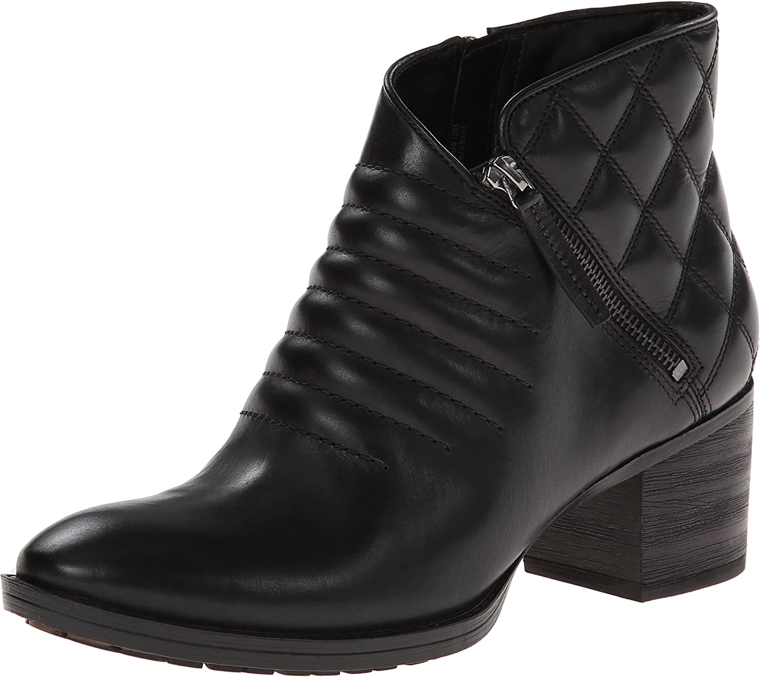 hur man köper kvalitet klassiska skor Amazon.com | CLARKS Movie Retro Womens Black Leather Boot 8-Medium ...