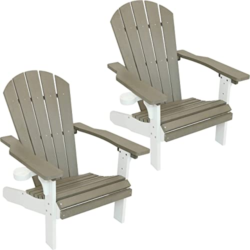 Sunnydaze All-Weather Adirondack Patio Chair