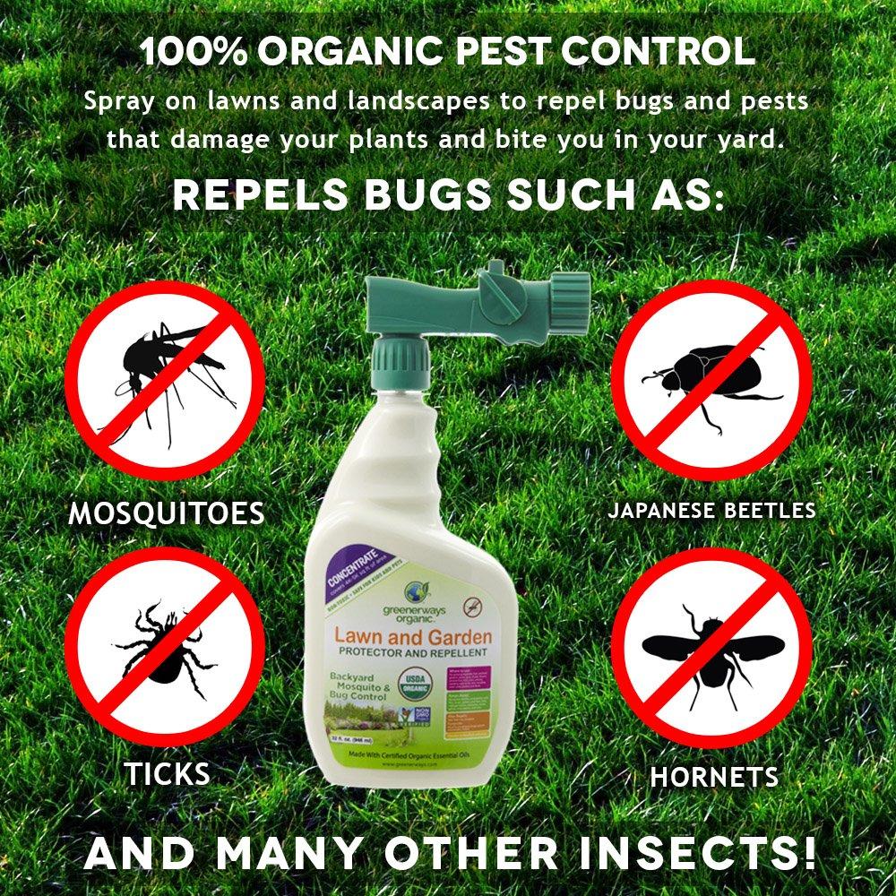 amazon com greenerways organic backyard insect repellent