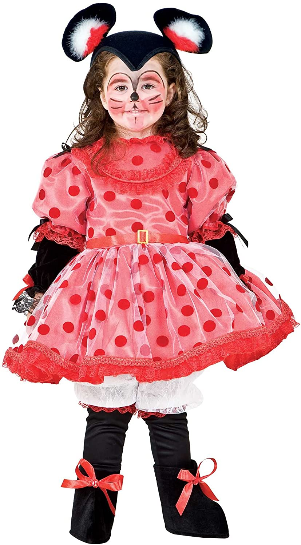 DISFRAZ TOPINA vestido fiesta de carnaval fancy dress disfraces halloween cosplay veneziano party 8900 Size 8/M