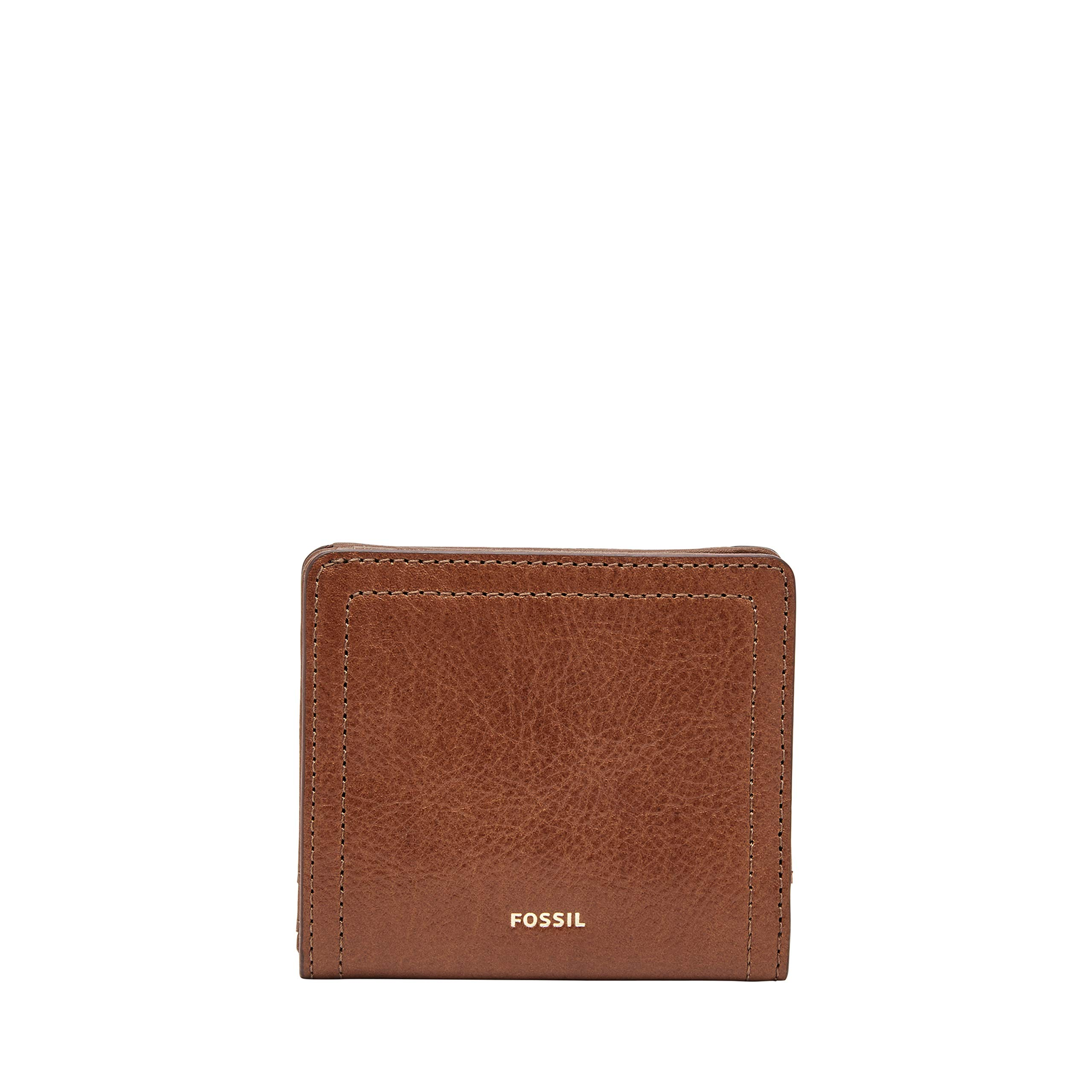 Fossil Logan Small RFID Bifold Brown
