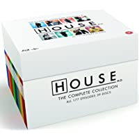House - Complete Collection [Blu-ray] [2004] [Region Free, Import )