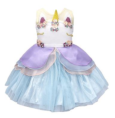 9003d0474dbd3 Amazon.com: stylesilove Handmade Baby Girls Unicorn Sleeveless ...