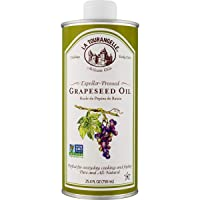 La Tourangelle Grapeseed Oil 25.4 Fl Oz, All-Natural, Artisanal, Great for Cooking...