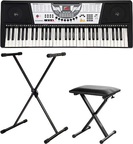 McGrey PK-610 teclado set incl. soporte + banqueta