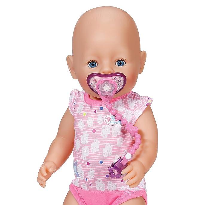 Zapf Creation Baby born 822050 - Chupete con cadena (colores aleatorios)