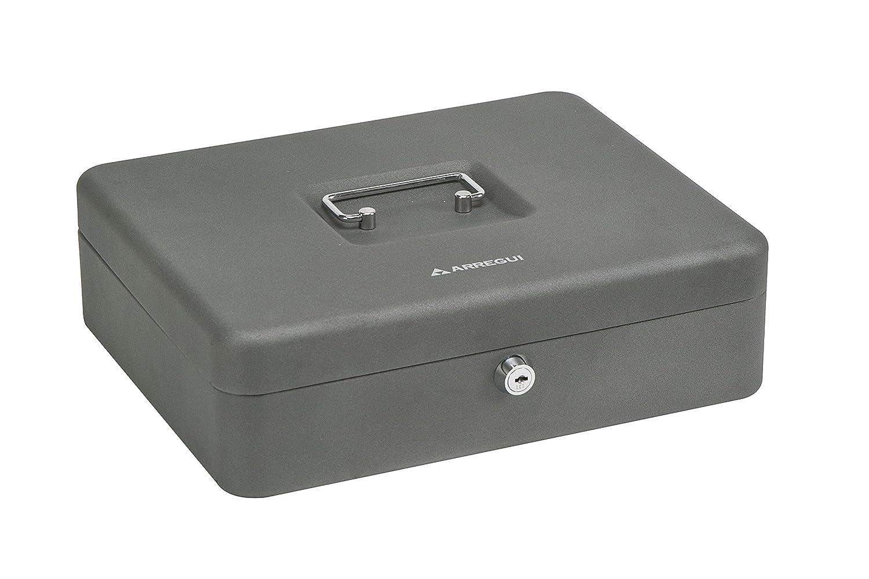 Arregui C9246-EUR Caja de caudales con Bandeja para Euros Gris Grafito Acero