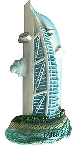 Dubai Burj Al Arab Emirates U a E Ship Sail Hotel, High Quality Resin 3d Fridge Magnet, 7 Wonders of the World