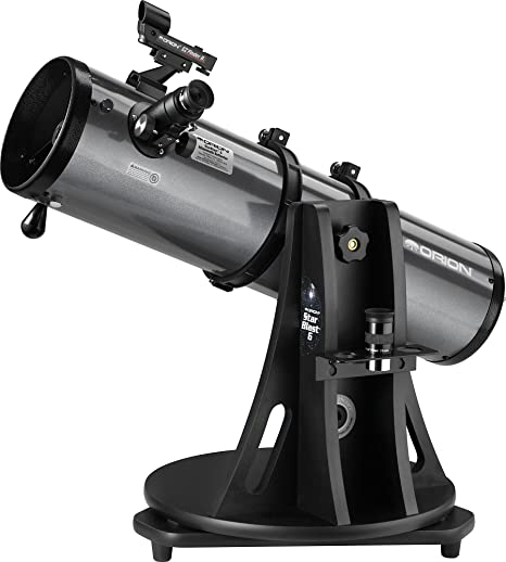 61 cm, 11 kg, 13 cm, Aluminio, Aluminio Telescopio Orion 09007e Reflector 19x Negro