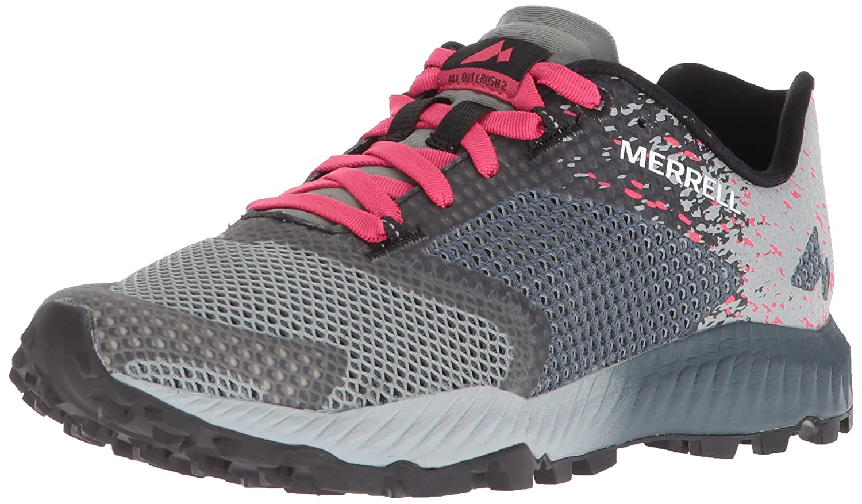 Merrell Women's All Out Crush 2 Sneaker B072MJ38Y4 7 B(M) US Slate