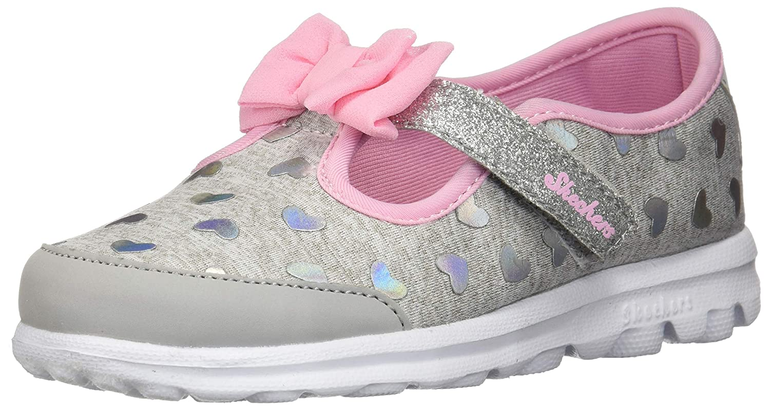 f6d4609b97c5 Amazon.com  Skechers Go Walk-Bitty Heart 81162n (Infant Toddler Little Kid)   Shoes