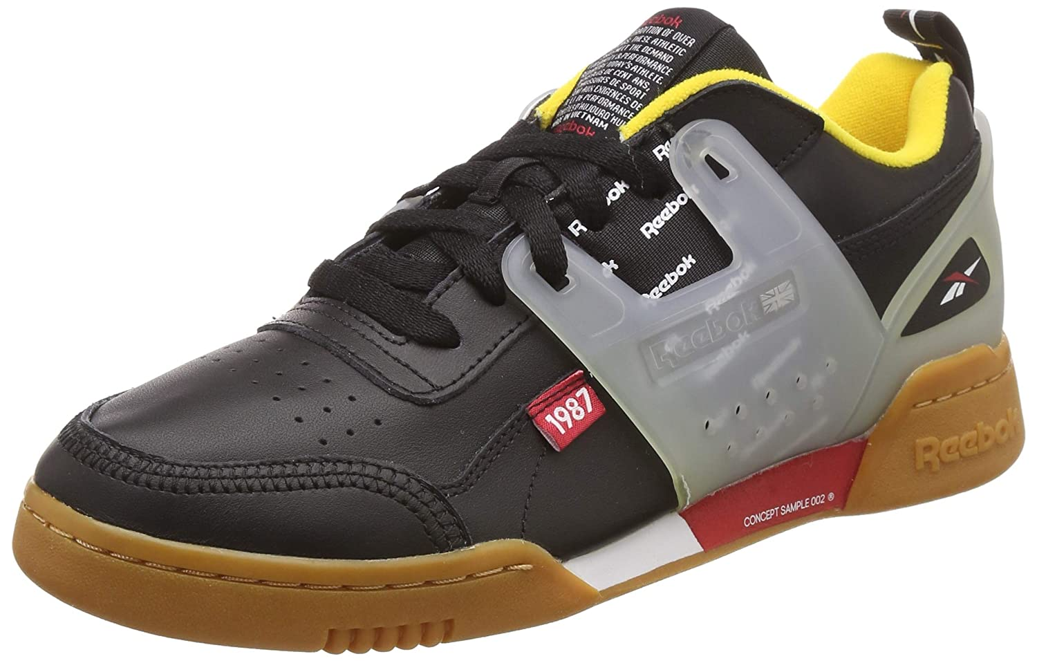 super cheap compares to high quality materials aliexpress Reebok Unisex's Workout Plus Ati Black/Red/Yellow/Grey/Gum ...