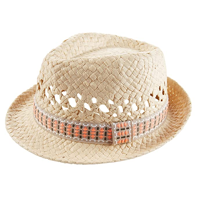8611a126 Amazon.com: Carter's Baby Boys' Fedora Hat-0-3 Months Ivory: Clothing