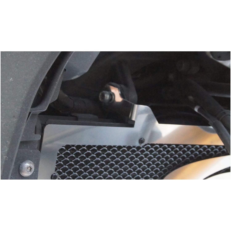 cache radiateur // grille de radiateur Yamaha MT 09 grillage bleu Sport Tracker Bulldog Tracer