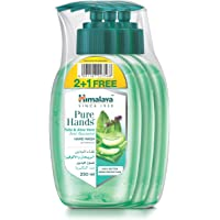Himalaya Purehands Tulsi & Aloe Vera Hand Wash Effectively Protects Your Hands from Germs While Maintaining the Skin's…