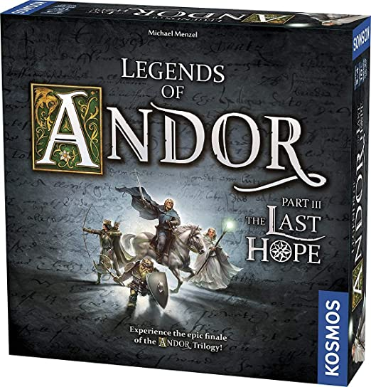 Thames and Kosmos: Legends of Andor: The Last Hope | Parte 3 – Juego Independiente | Juego de Aventura cooperativa, 2-4 Jugadores, Edades de 10 años: Amazon.es: Juguetes y juegos