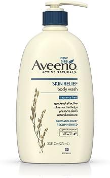 Aveeno Skin Relief Fragrance-Free 33-Oz Body Wash