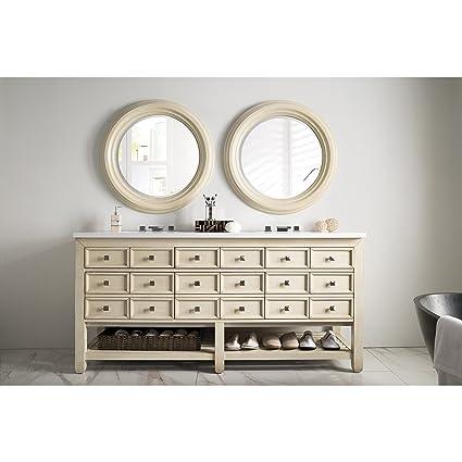 Amazoncom James Martin Furniture Victoria 69 Inch Double Vanity Or