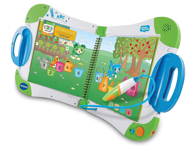 Vtech 80-602174 MagiBook Deluxe Bundle Lernbuchsystem Mehrfarbig
