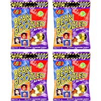 Jelly Belly BEANBOOZLED – 4 PACK of bagged Jelly Beans (54g per bag)