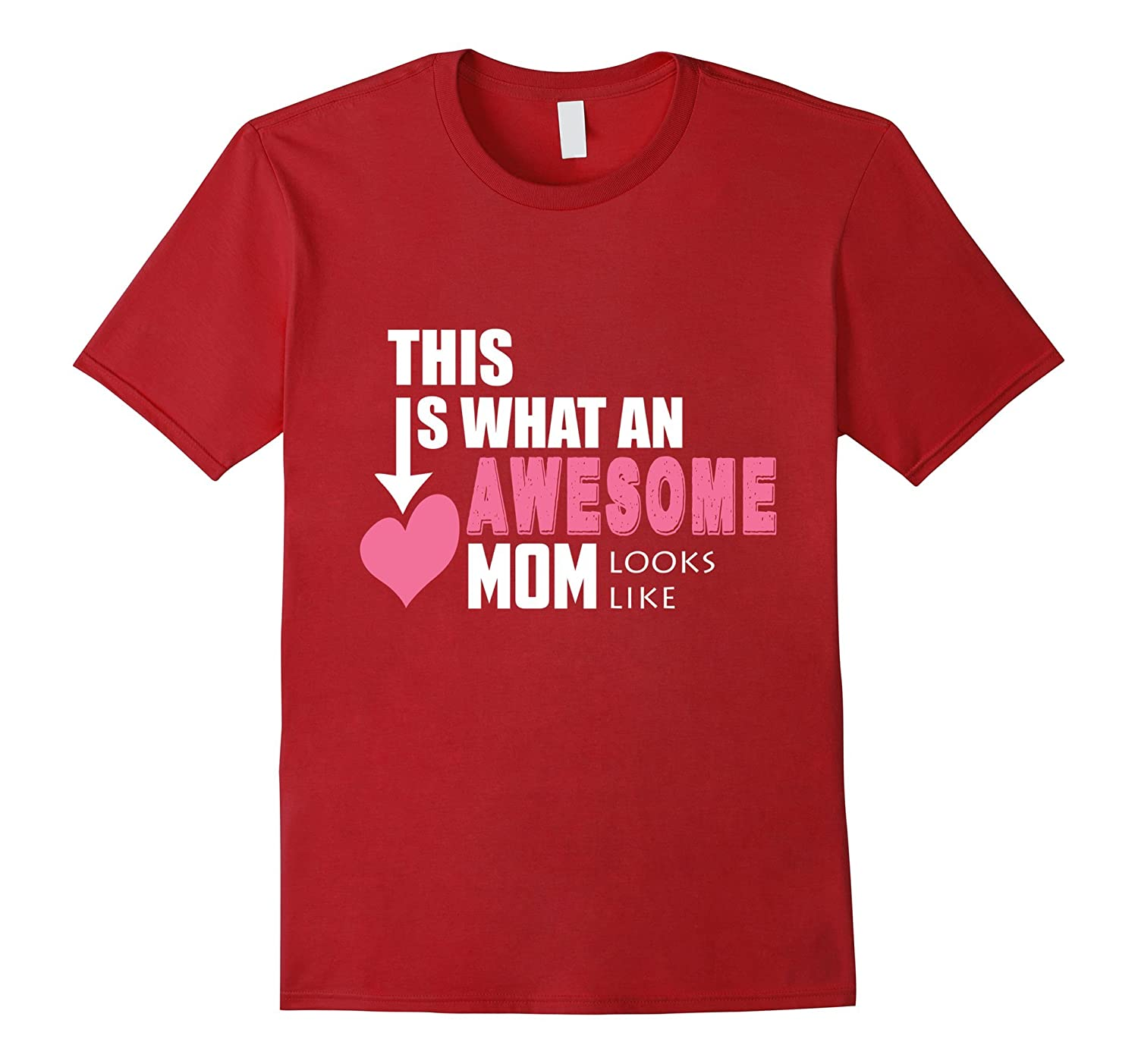 Awesome Mom Looks Like Funny Family T shirt for MotherMama-TH